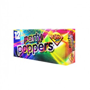 Party Poppers (12 Pack)