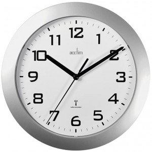 Acctim Peron Radio Controlled Plastic Wall Clock