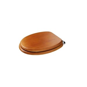 Croydex Douglas Sit Tight Toilet Seat Antique Pine