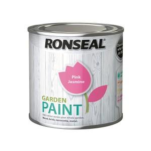 Ronseal Garden Paint 750ml Pink Jasmine