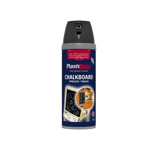 PlastiKote Chalkboard Spray Paint 400ml Black