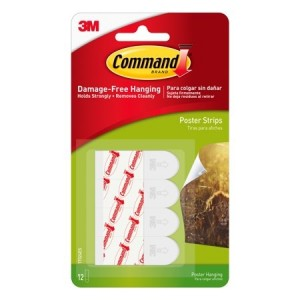Command Poster Strips (12 Pack) 17024