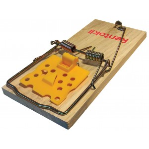 Rentokil Wooden Rat Trap