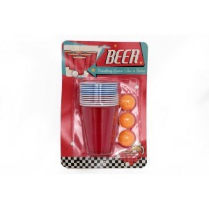 Reusable Beer Pong Drinking Game