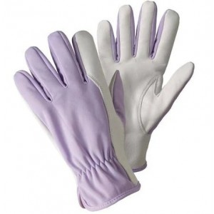 Briers Lavender Super Soft and Strong Leather Gardening Gloves