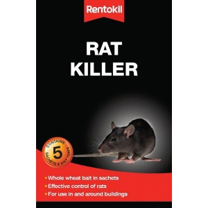 Rentokil Rat Killer (5 Sachet)