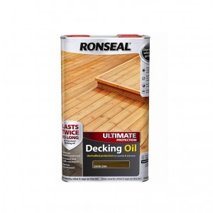 Ronseal Ultimate Decking Oil 5L Dark Oak