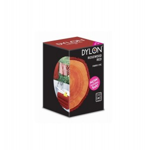 Dylon Machine Wash Fabric Dye 350g Rosewood Red
