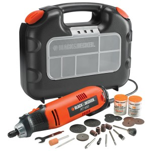 Black & Decker Rotary Multi-Tool With Kit Box