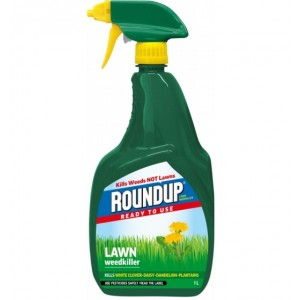 Roundup Ready to Use Lawn Weed Killer Spray 1L