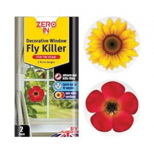 Zero In Decorative Window Fly Killer (2 Pack)