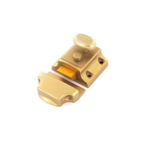 Securit S1741 Champagne Finish Brass Cylinder Nightlatch (Narrow)