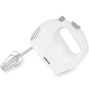 Sabichi 5 Speed Hand Mixer White