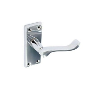 Securit S2701 105mm Scroll Lock Handles Chrome (2 Pack)