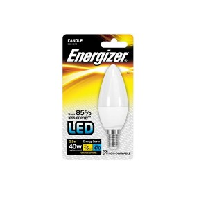 Energizer 5.9W SES Warm White LED Candle Bulb