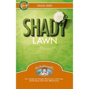 Mr Fothergill's Shady Lawn Grass Seed 500g