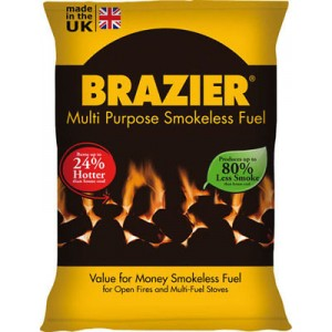 Brazier Smokeless Coal 10kg
