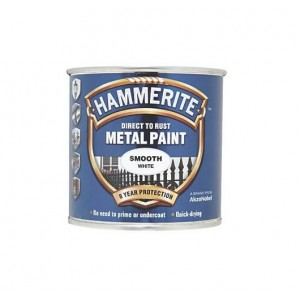 Hammerite Metal Paint 2.5L Smooth White
