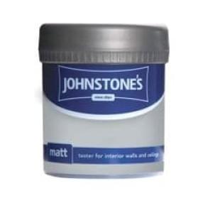 Johnstones Vinyl Emulsion Tester Pot 75ml Soft Cream (Matt)