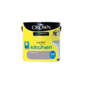 Crown Kitchen Paint 2.5L Spice Jar (Matt)