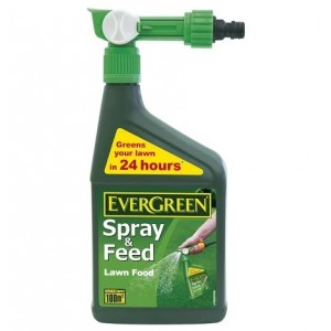 Evergreen Spray & Feed Lawn Food 1L