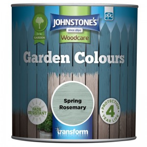Johnstones Garden Colours Paint 1L Spring Rosemary