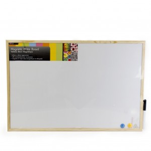 Magnetic White Board 60 x 40cm