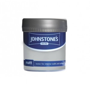 Johnstones Vinyl Emulsion Tester Pot 75ml Steel Smoke (Matt)