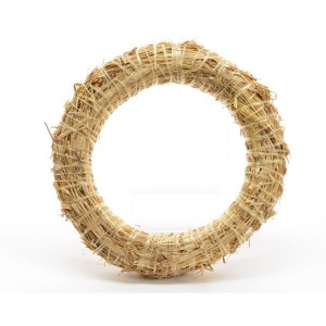 Kaemingk Straw Wreath 35cm
