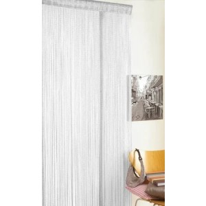 Glitter String Curtain (90 x 200cm) White