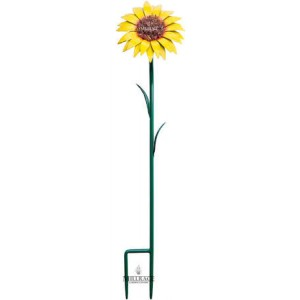 Metal Sunflower Stake - Small