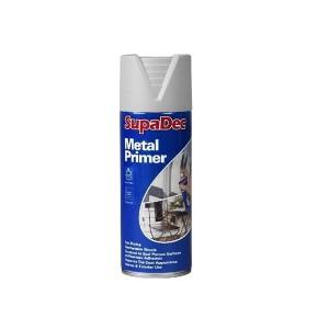Supadec Metal Primer Spray Paint 400ml Grey
