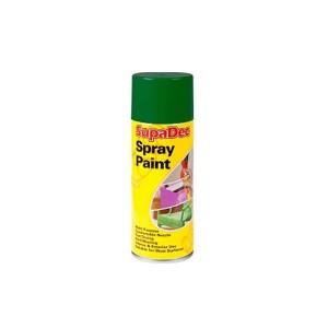 Supadec Spray Paint 400ml Green Gloss