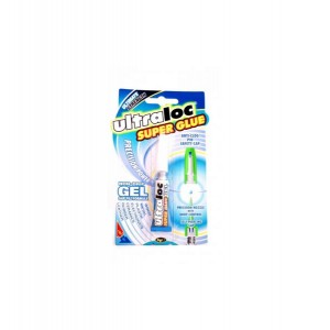 Ultraloc Non-Drip Precision Power Super Glue Gel 3g