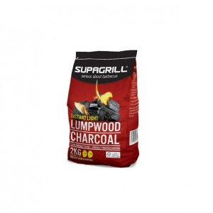 Supagrill Instant Light Lumpwood Charcoal 2KG