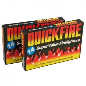 QuickFire Super Value Firelighters (14 Pack)