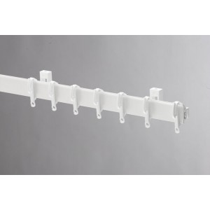 Swish Sologlyde PVC Curtain Track 275cm White