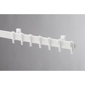 Swish Sologlyde PVC Curtain Track 250cm White
