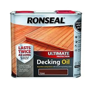 Ronseal Ultimate Protection Decking Oil 2.5L Teak