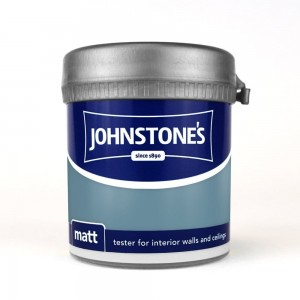 Johnstones Vinyl Emulsion Tester Pot 75ml Teal Topaz (Matt)