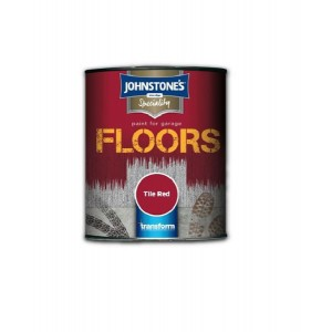 Johnstone's Garage Floor Paint 250ml Tile Red