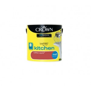 Crown Kitchen Paint 2.5L Toffee Apple (Matt)