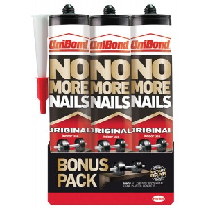 No More Nails Interior Cartridge (Triple Pack)
