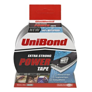 UniBond Extra Strong Power Tape 50mm x 25m Silver