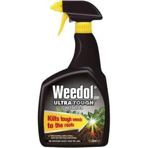Weedol Ultra Tough Ready To Use Weedkiller 1L