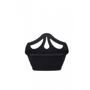 Whitefurze Venetian Wall Planter 42cm Black
