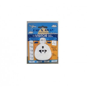 Dencon UK Visitor Travel Adaptor
