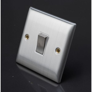 Lyvia 10A Single Switch Socket White Insert