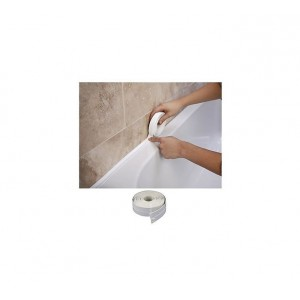 Supadec Bath & Wall Sealing Strip 38mm x 3.35m White
