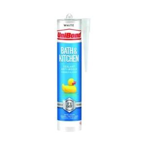 Unibond Bath & Kitchen Anti Mould Sealant - White